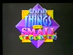 Good Things Come In Small Packages (1989) pt1