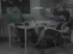 Sekretaerinnen Fickschlampe kriegt den Hammer in die Fotze