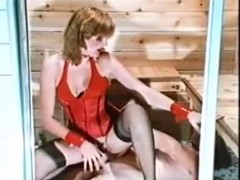 Horny classic adult movie from the Golden Time