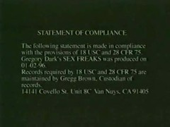 Gregory Dark's Sex Freaks
