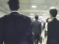 Vintage busty Japanese girl fucks otaku