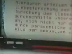 German Sex Research In The 1970s