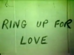 vintage 70s US - Ring up for love - cc79