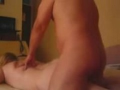 Mature couple madly fucks
