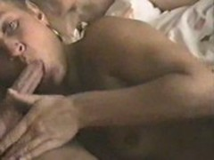Cock Hungry Cougar Eats Dick