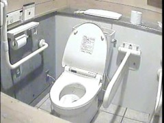 The public toilet bowl that had so many amateur sitting on