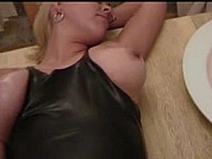 Blonde MILF with big tits screwed