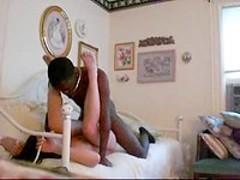 Black Guy White Girl interracial sex