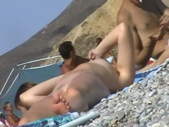 Nude beach video of splendid naked bodies