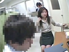 Asian pussies get voyeur medical exam at gynecologist