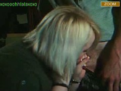 cfnm couples webcam blonde gives head to boyfriend on stickam
