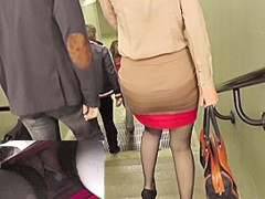 Sheep hose upskirt footage