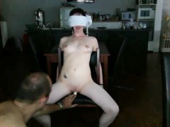 Bad girl gets tied up and punished