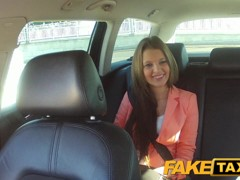 FakeTaxi: Juvenile hotty pounded to make up for taxi fare