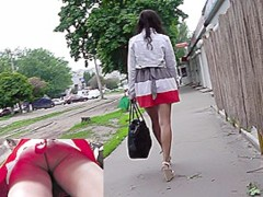 Fabulous no panty upskirt movie episode