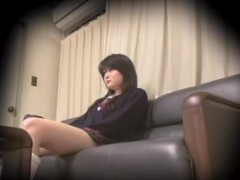 Hot Jap teen fucked by a fat man on spy camera sex video