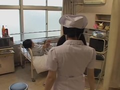 Slutty Jap nurse gets dicked well in Japanese sex video