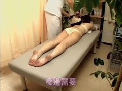 Sex toy and Japanese fucking for a horny Asian chick