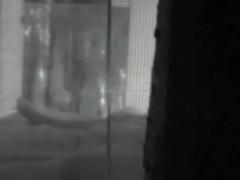 The hot shadow of my beautiful neighbor through window