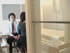 Kinky doctor shows his sex skills in japanese porn movie