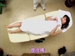 Horny Japanese babe rides dick in Japanese sex video