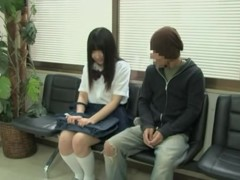 Japanese medical fantasies with a cute and sexy schoolgirl
