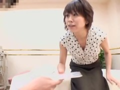 Skinny Japanese fingered hard in spy cam massage video