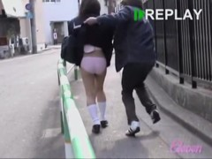 Innocent oriental hoe receiving sharking treatment from some guy