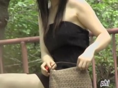 Nice sharking video of fascinating little Asian princess