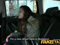 FakeTaxi: eighteen Years old and engulfing taxi wang