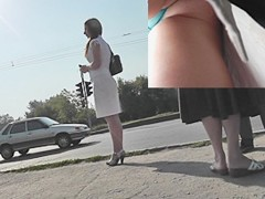 Spectacular mother i'd like to fuck upskirt spy clip