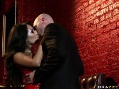 Group fuck lover couple Diamond Foxxx and her boyfriend Jordan Ash are having wild orgy at the fri.