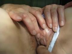 Kinky hottie in homemade voyeur masturbation action