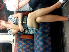 Londonperv's Candids 2014 - Down on the Tube