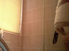 girl Gets Caught On Hidden Cam In The Shower