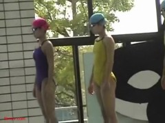 Super VIP school sneaked voyeur! School Chia Sican Festival! File.19 swimming school Hen
