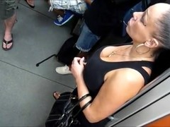 Candid Sexy Big Boobs MILF Cleavage
