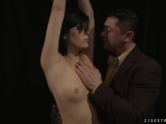 House of Wax with nasty brunette Melissza