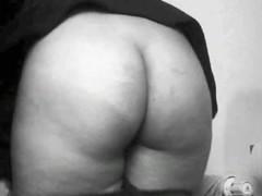 Blonde Bubble Butt on Toilet - Hidden Bathroom Cam
