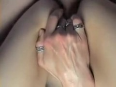 Buggering my horny wife's anal hole
