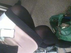 Sexy Lady POV Black Pantyhose