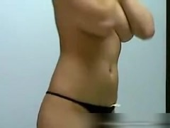 Mary strips for me in hot sex video