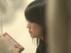 Window Peep at Japanese Dental Hygiene Student