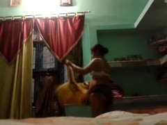 Indian Aunty megha rani self made videos in pantie part 2