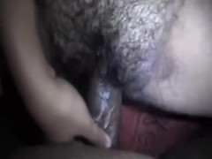 Extremely Hairy Indian Cunt and Ass Fucked   POV