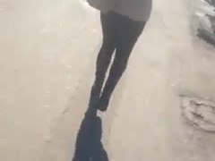 spy sexy ass teens in the street romanian