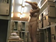 Girl got caught on a spy cam in the change room