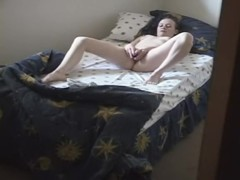 Girl next door toying her twat