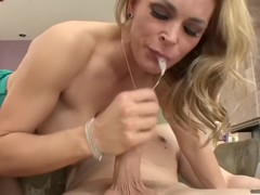 Tanya Tate - On Him Mouth First