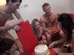 Charlotte Reed & Angel Piaff & Corrine & Eveline & Ilsa in nude students enter a lustful group sex a